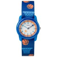 Timex® Time Machines Children's 28mm Basketball Watch in Blue