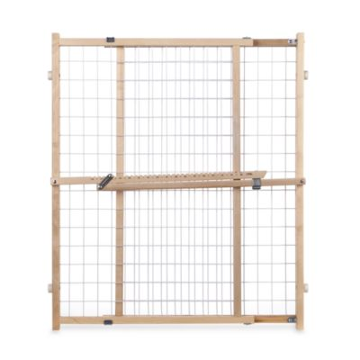 Genial North States Extra Wide Wire Mesh Safety Gate