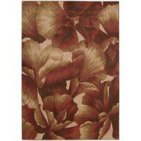 Nourison Somerset Geranium 5'3 x 7'5 Multicolor Area Rug