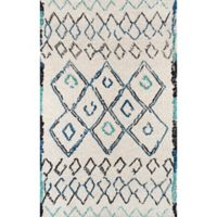 Momeni Margaux Geometric 2' x 3' Accent Rug in Ivory