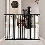 Regalo® Extra-Wide Suction-Mount Safety Gate in Black