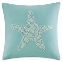 Harbor House™ Canon Beach Embroidered Starfish Square Throw Pillow