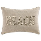 Coastal Living® Green Palm Beach Oblong Throw Pillow in Natural