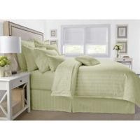 Wamsutta® 500-Thread-Count PimaCott® Damask Full/Queen Comforter Set in Sage