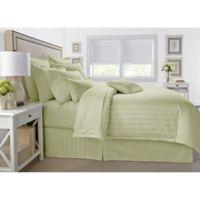 Wamsutta® 500-Thread-Count PimaCott® Damask Twin Comforter Set in Sage