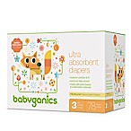 Babyganics® 78-Count Size 3 Ultra Absorbent Diapers