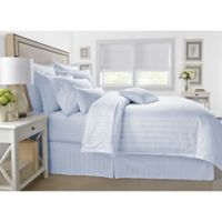 Wamsutta® 500-Thread-Count PimaCott® Damask King Comforter Set in Light Blue