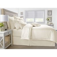 Wamsutta® 500-Thread-Count PimaCott® Damask Full/Queen Comforter Set in Ivory