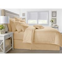 Wamsutta® 500-Thread-Count PimaCott® Damask King Comforter Set in Honey