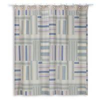 Creative Bath Ticking Stripe Shower Curtain