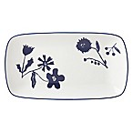 kate spade new york Spring Street™ Cobalt Hors d'Oeuvre Tray