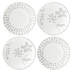 kate spade new york Spring Street™ Flax Tidbit Plates (Set of 4)