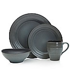 Mikasa® Swirl Speckle 4-Piece Place Setting in Graphite