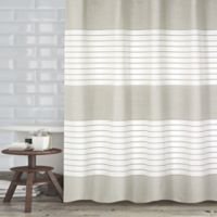 Pacie Shower Curtain in Ivory
