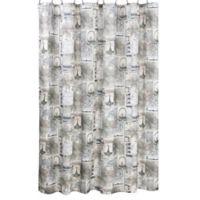 iDesign® Paris Shower Curtain in Café