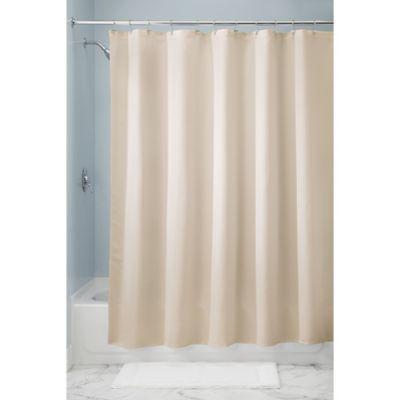 InterDesignR 72 Inch X Paxton Shower Curtain In Sand