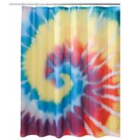 InterDesign® Tie-Dye Shower Curtain