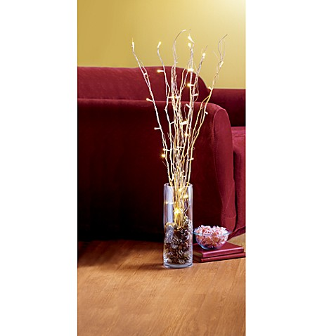 Battery Operated Led Lighted Branches Bed Bath And Beyond