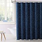 Laura Hart Kids Night Sky Shower Curtain in Blue