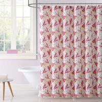 Laura Hart Kids Fruity Shower Curtain in Pink