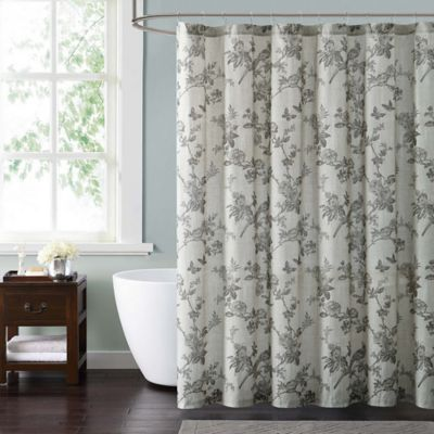 Style 212 Lisborn Brown Shower Curtain