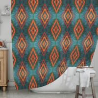 KESS InHouse® Diamond Sea Shower Curtain