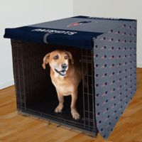 NFL New England Patriots 42-Inch Pet Crate Cover