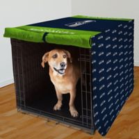 NFL Seattle Seahawks 42-Inch Pet Crate Cover