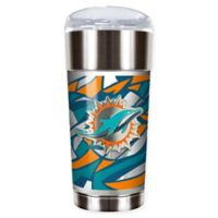 NFL Miami Dolphins 24 oz. Vacuum Insulated Stainless Steel EAGLE Party Cup