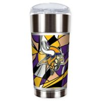 NFL Minnesota Vikings 24 oz. Vacuum Insulated Stainless Steel EAGLE Party Cup