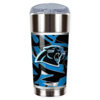 NFL Carolina Panthers 24 oz. Vacuum Insulated Stainless Steel EAGLE Party Cup
