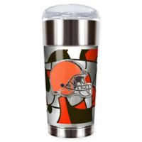 NFL Cleveland Browns 24 oz. Vacuum Insulated Stainless Steel EAGLE Party Cup