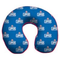 NBA Los Angeles Clippers Microfiber Memory Foam U-Neck Travel Pillow