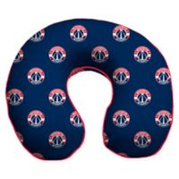 NBA Washington Wizards Microfiber Memory Foam U-Neck Travel Pillow