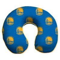 NBA Golden State Warriors Microfiber Memory Foam U-Neck Travel Pillow