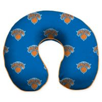 NBA New York Knicks Microfiber Memory Foam U-Neck Travel Pillow