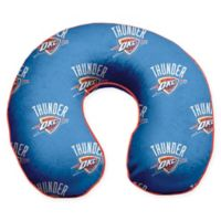 NBA Oklahoma City Thunder Microfiber Memory Foam U-Neck Travel Pillow