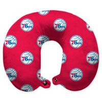 NBA Philadelphia 76ers Polyester Memory Foam U-Neck Travel Pillow