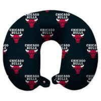 NBA Chicago Bulls Polyester Memory Foam U-Neck Travel Pillow