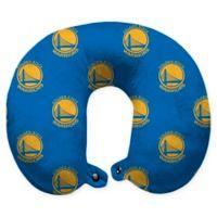 NBA Golden State Warriors Polyester Memory Foam U-Neck Travel Pillow