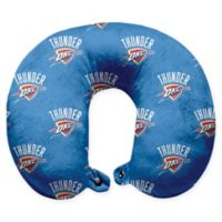 NBA Oklahoma City Thunder Polyester Memory Foam U-Neck Travel Pillow