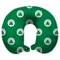 NBA Boston Celtics Polyester Memory Foam U-Neck Travel Pillow
