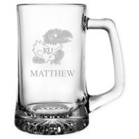 University of Kansas 15 oz. Glass Sport Mug