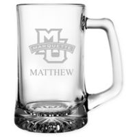 Marquette University 15 oz. Glass Sport Mug