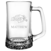 North Dakota State University 15 oz. Glass Sport Mug