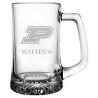 Purdue University 15 oz. Glass Sport Mug