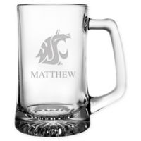 Washington State University 15 oz. Glass Sport Mug