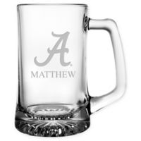 University of Alabama 15 oz. Glass Sport Mug