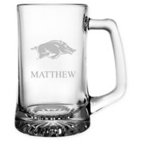 University of Arkansas 15 oz. Glass Sport Mug