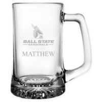 Ball State University 15 oz. Glass Sport Mug